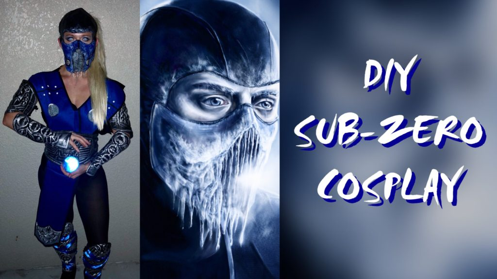 DIY Sub-Zero Cosplay Supply Link