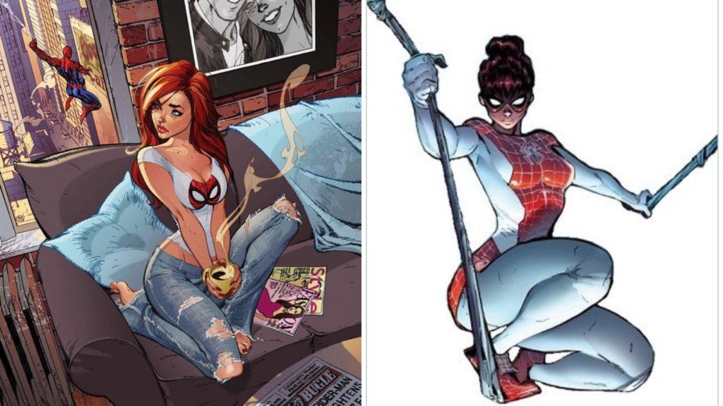 Mary Jane Spider-Man shirt