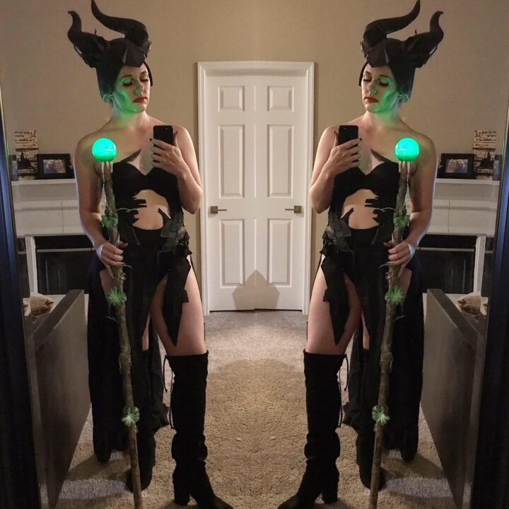 diy maleficent cosplay