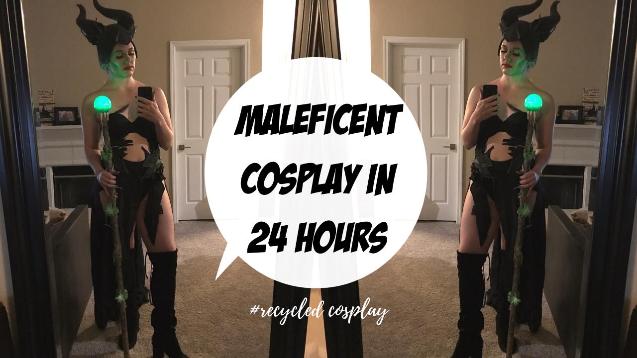maleficent cosplay diy