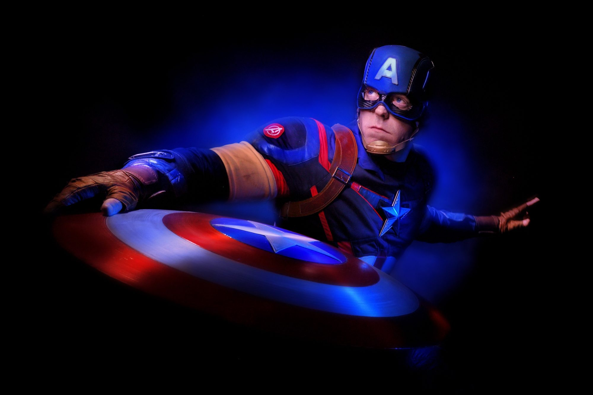 Captain America ... 2016 (c) Dave Black All Rights Res. ph 719 964 6116 www.daveblackphotography.com