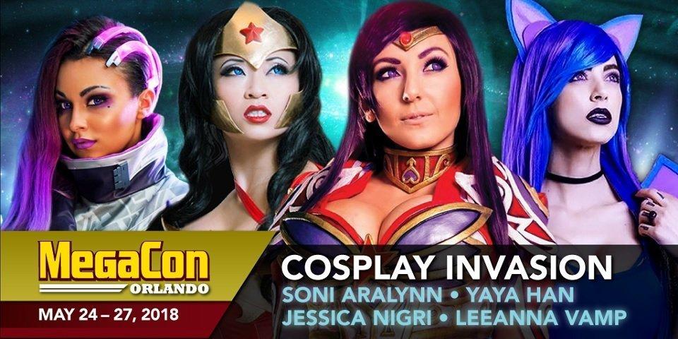 MegaCon Orlando Creates the Ultimate Cosplay Lineup