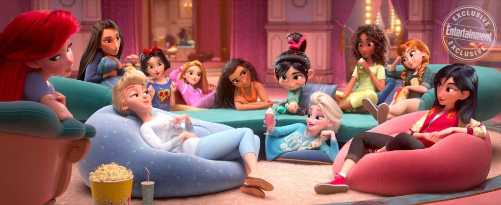 Disney Princess Stars Confirm New Scene For 'Wreck it Ralph 2'