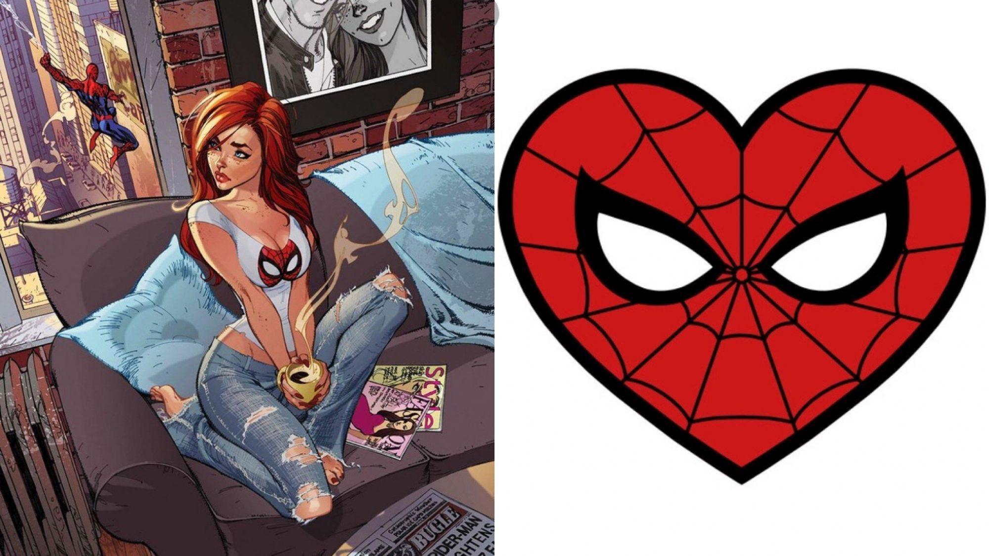 DIY MJ Spider-Man Shirt