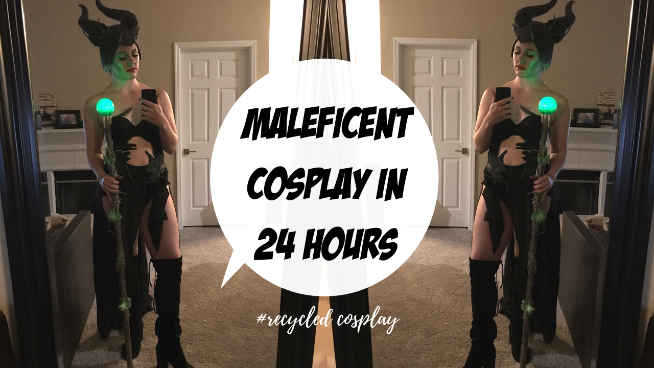 maleficent cosplay diy