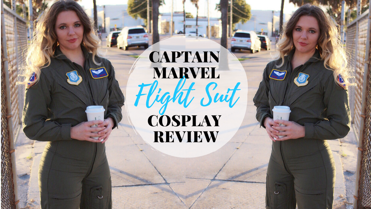 Captain Marvel pilot suit costume