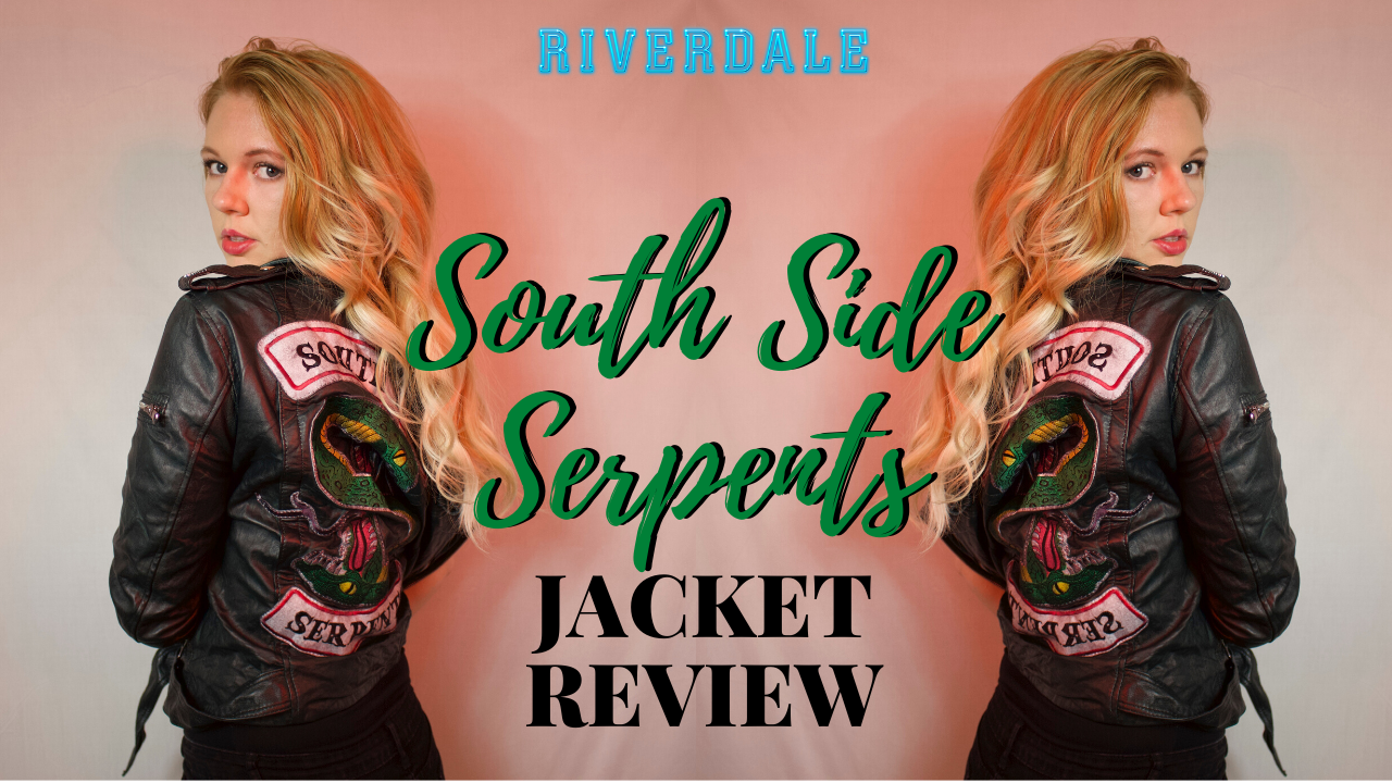luca jackets review - women Southside serpents jacket