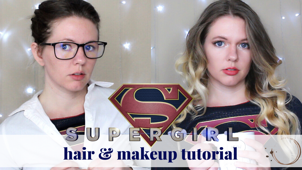 Supergirl Makeup and Hair Tutorial – Cosplay Supply Link
